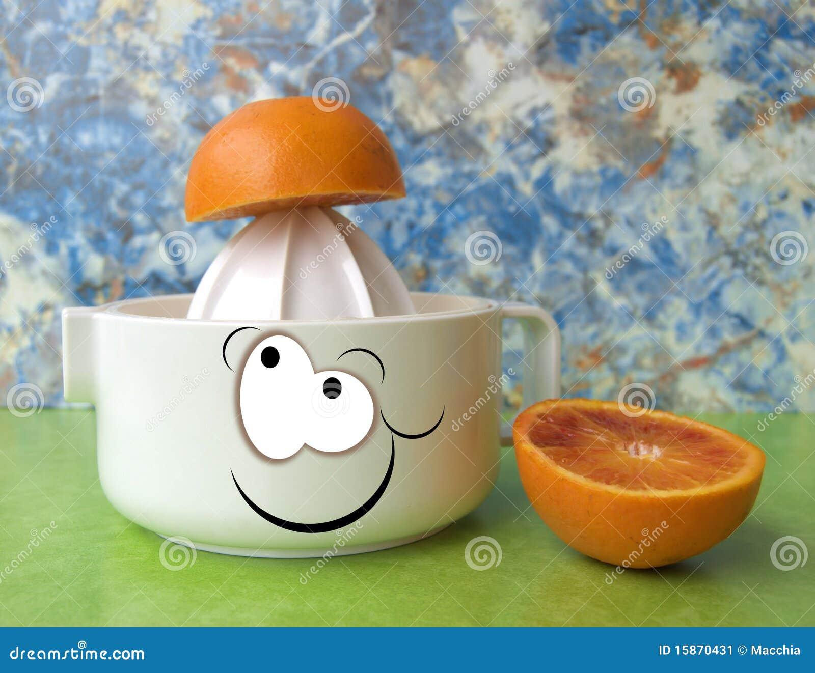 Juicer pomarańcze