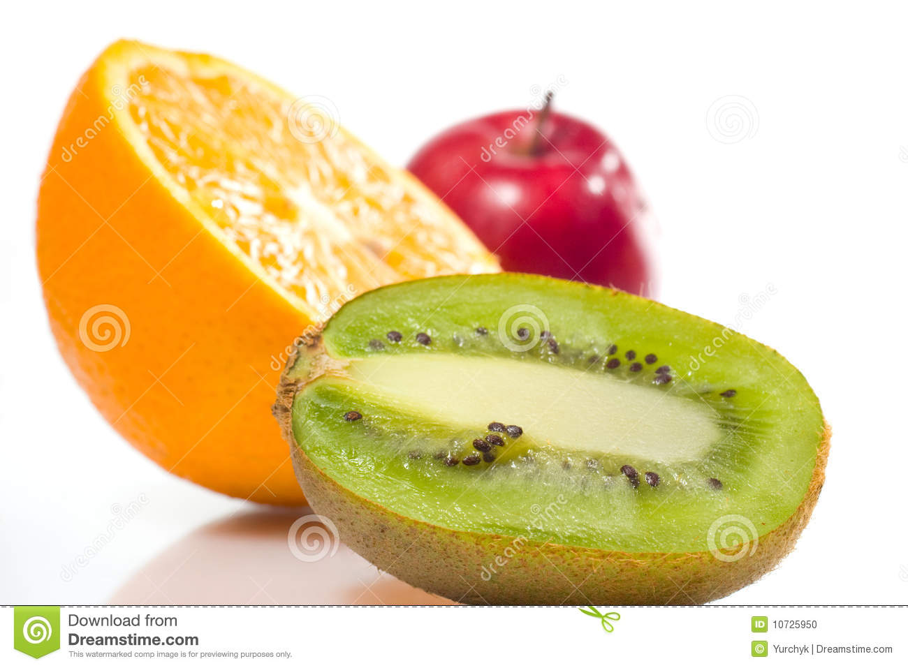 juicy fruits over white stock photo image of juicy object 10725950
