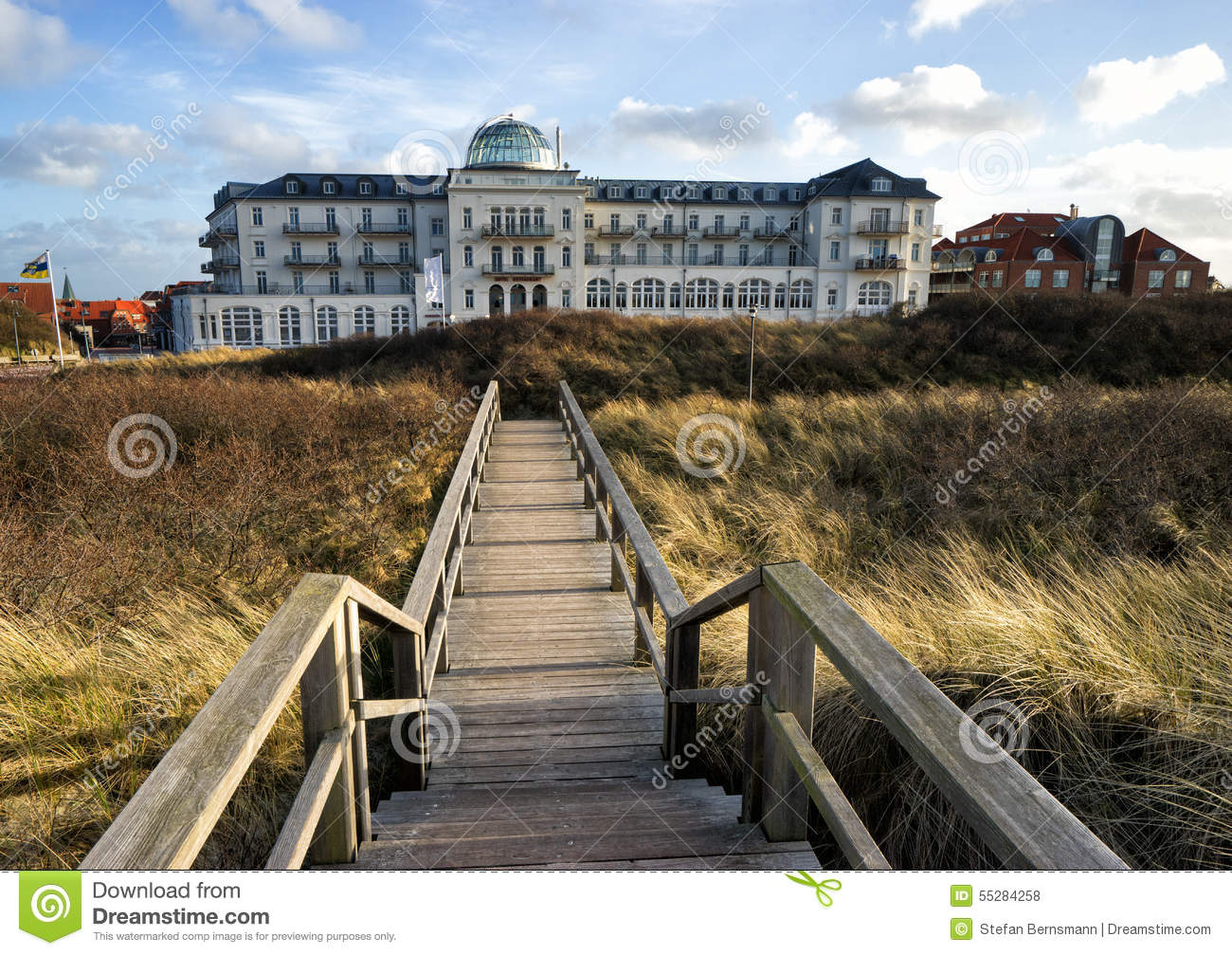 Juist germany editorial stock photo image 55284258 for Design hotel juist