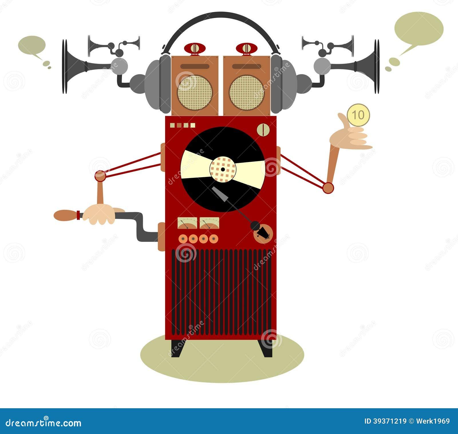 Jukebox Stock Vector Image 39371219