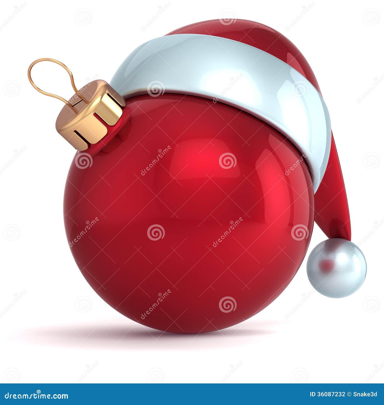 Jul klumpa ihop sig röd garnering för struntsaken för det nya året för prydnaden