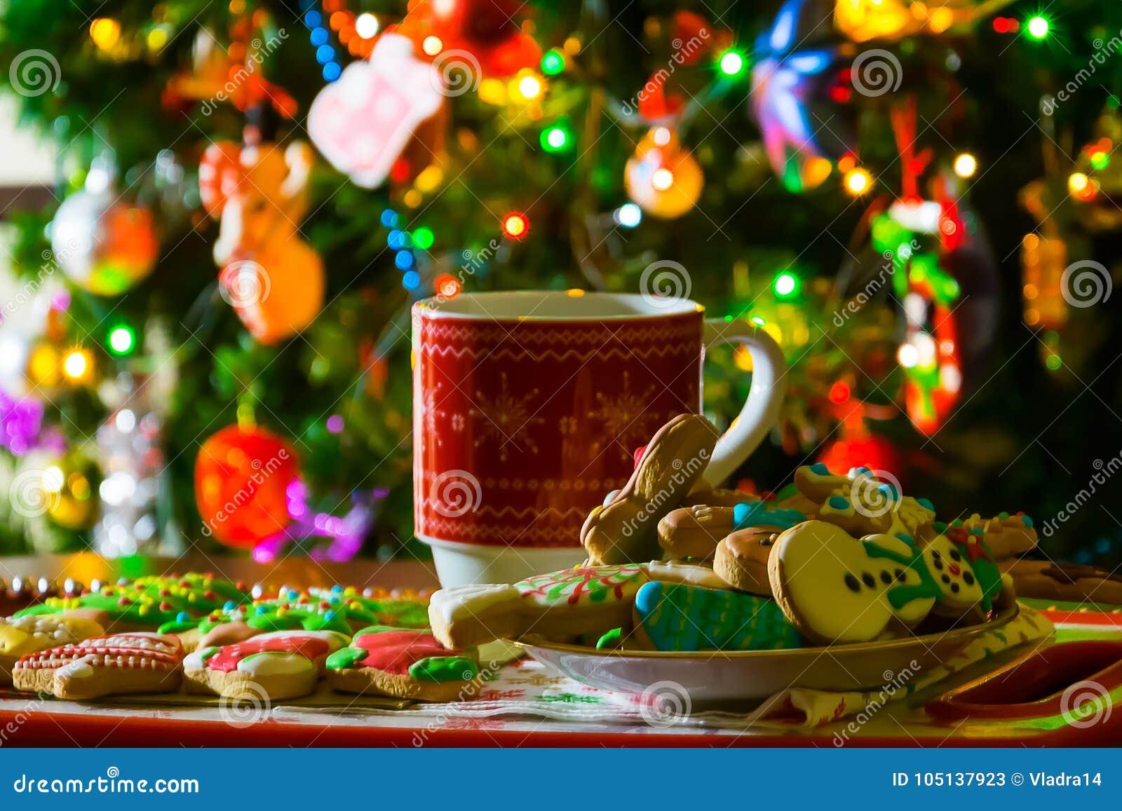 Jul kuper, te och kakor