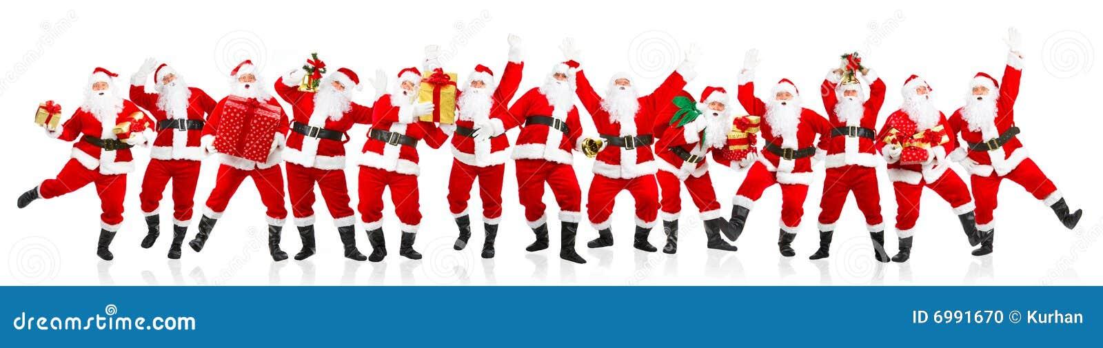 Jul lyckliga santa