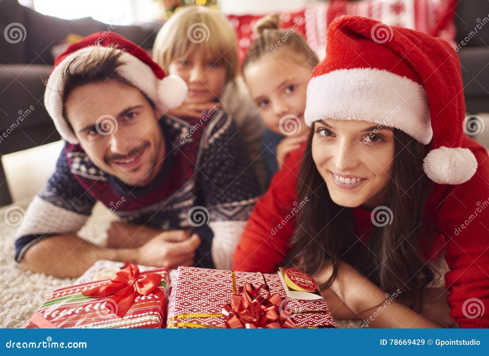 Jul med familjen