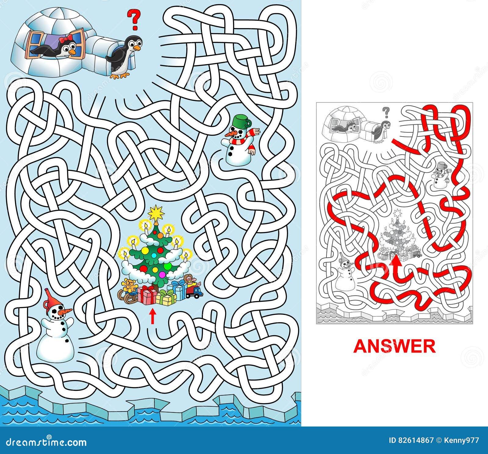 Jul på pingvin
