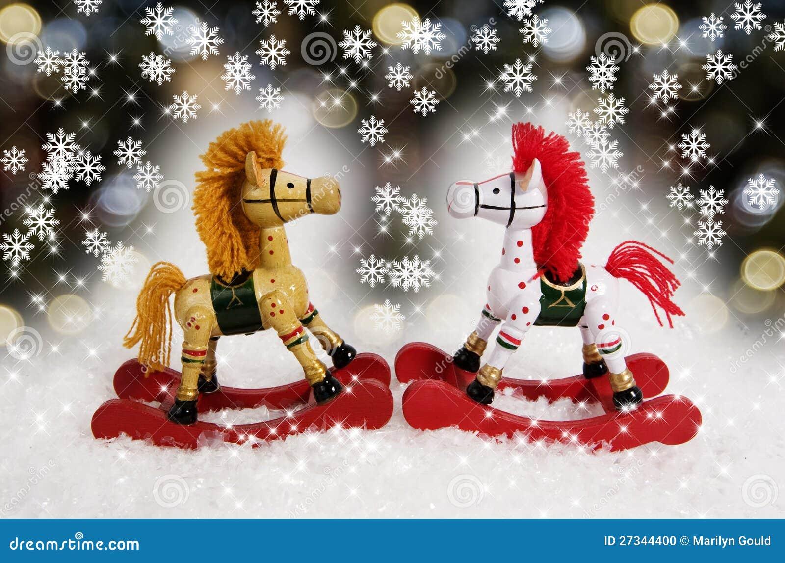 Jul som vaggar hästar