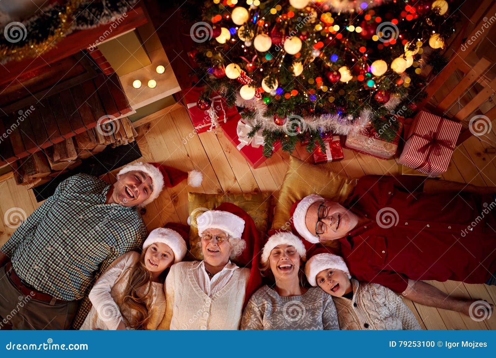 Jul tajmar spenderat med familjen