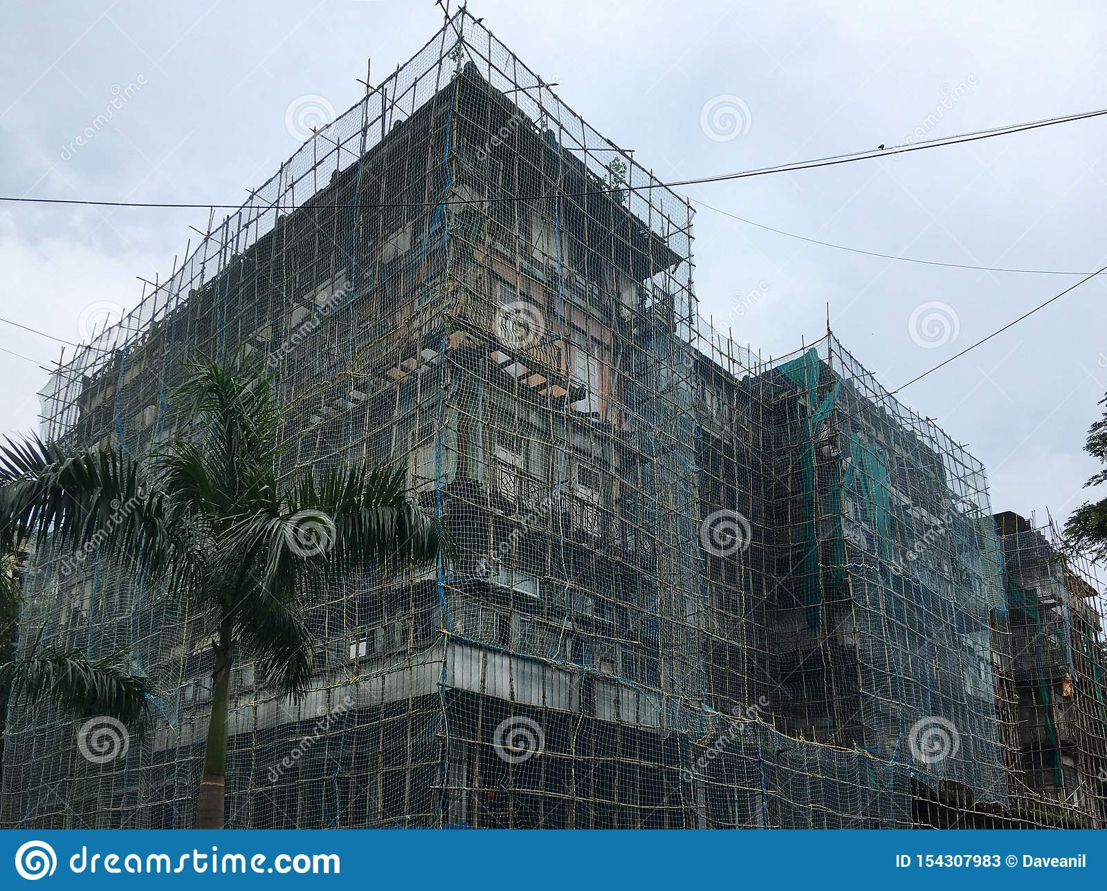 Watson`s Hotel, now known as the Esplanade Mansion, is India`s oldest surviving cast iron building.under renovation It is locate