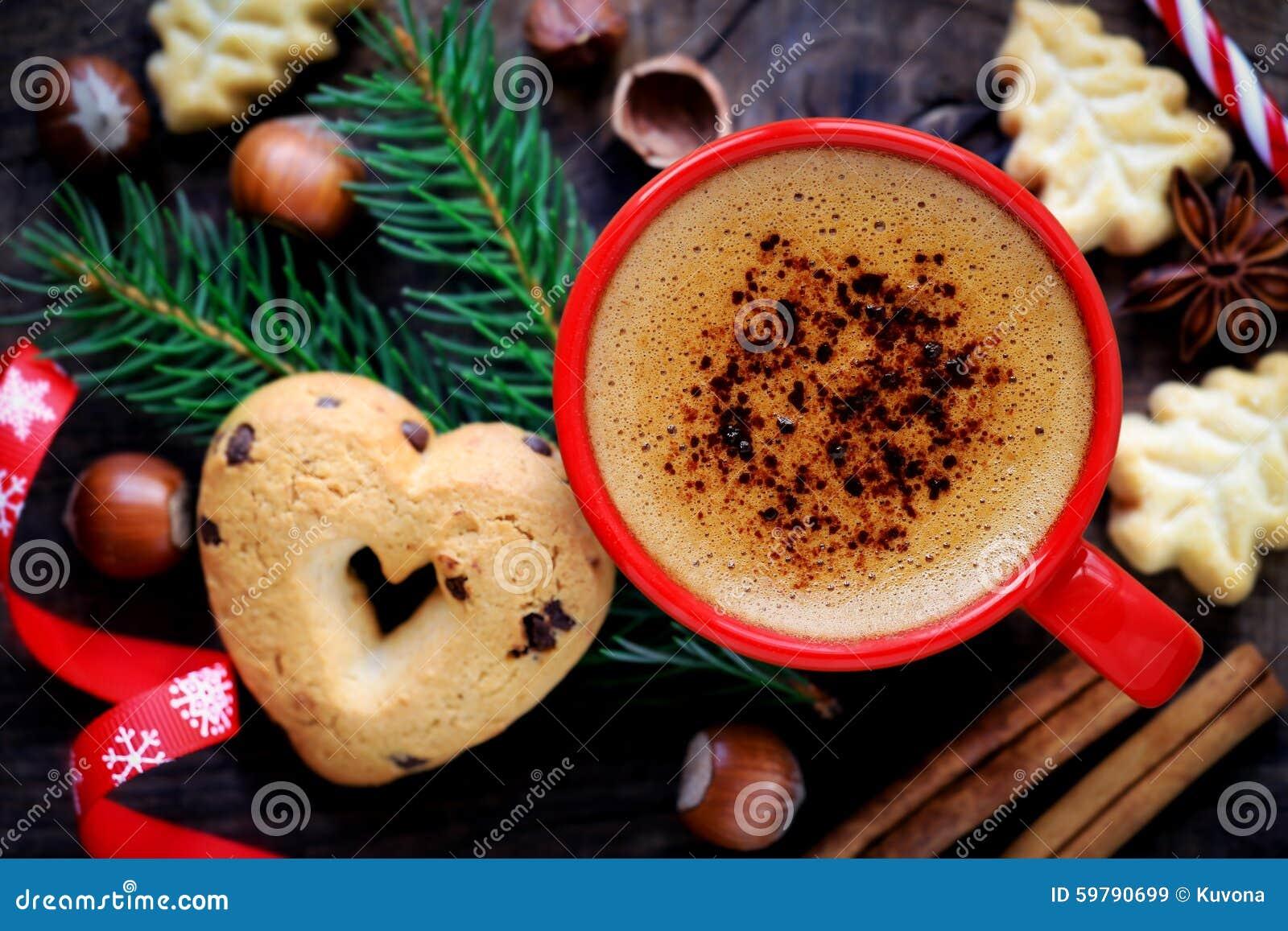 Julcoffe och kakor