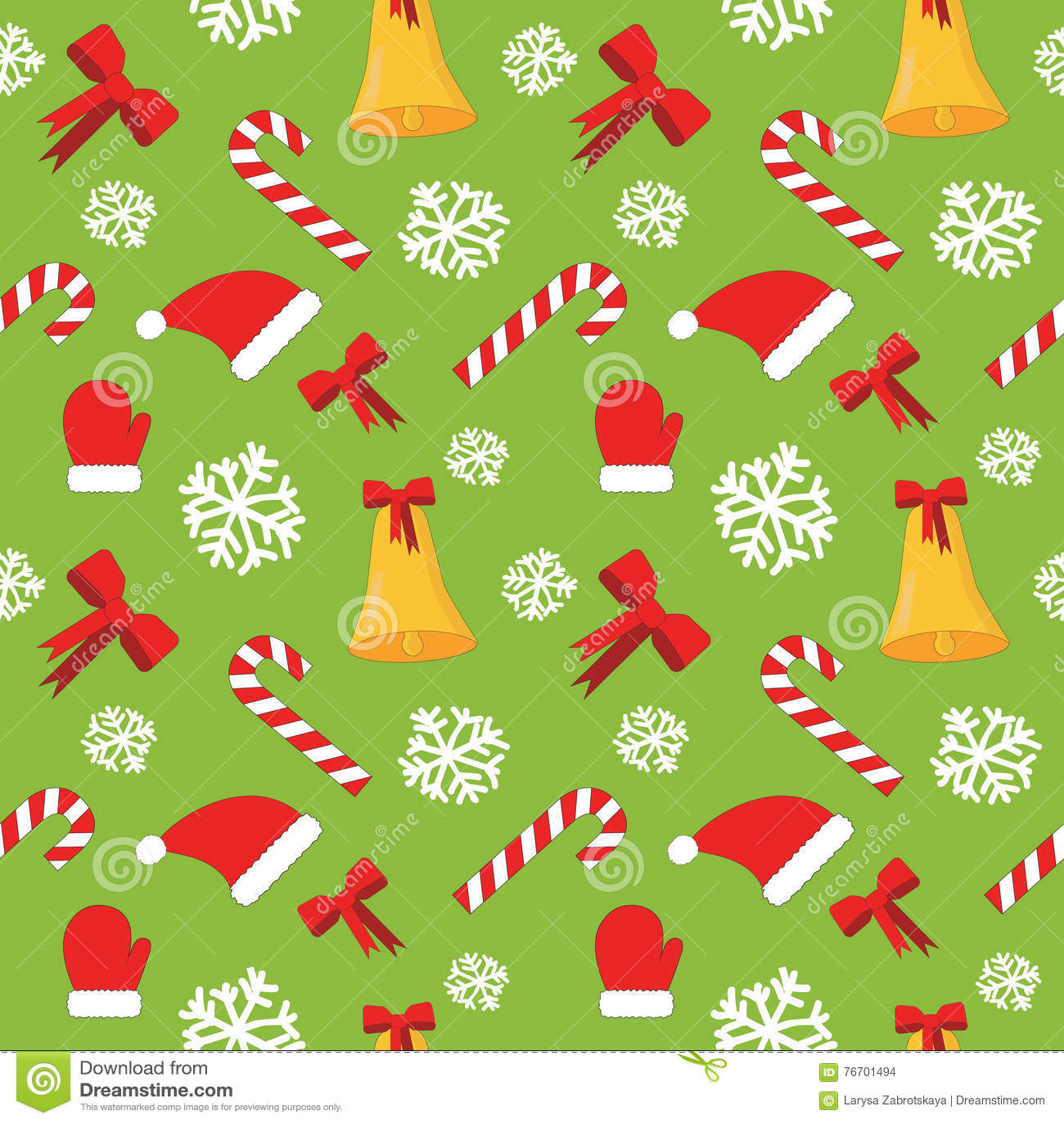Julen mönsan den seamless vektorn