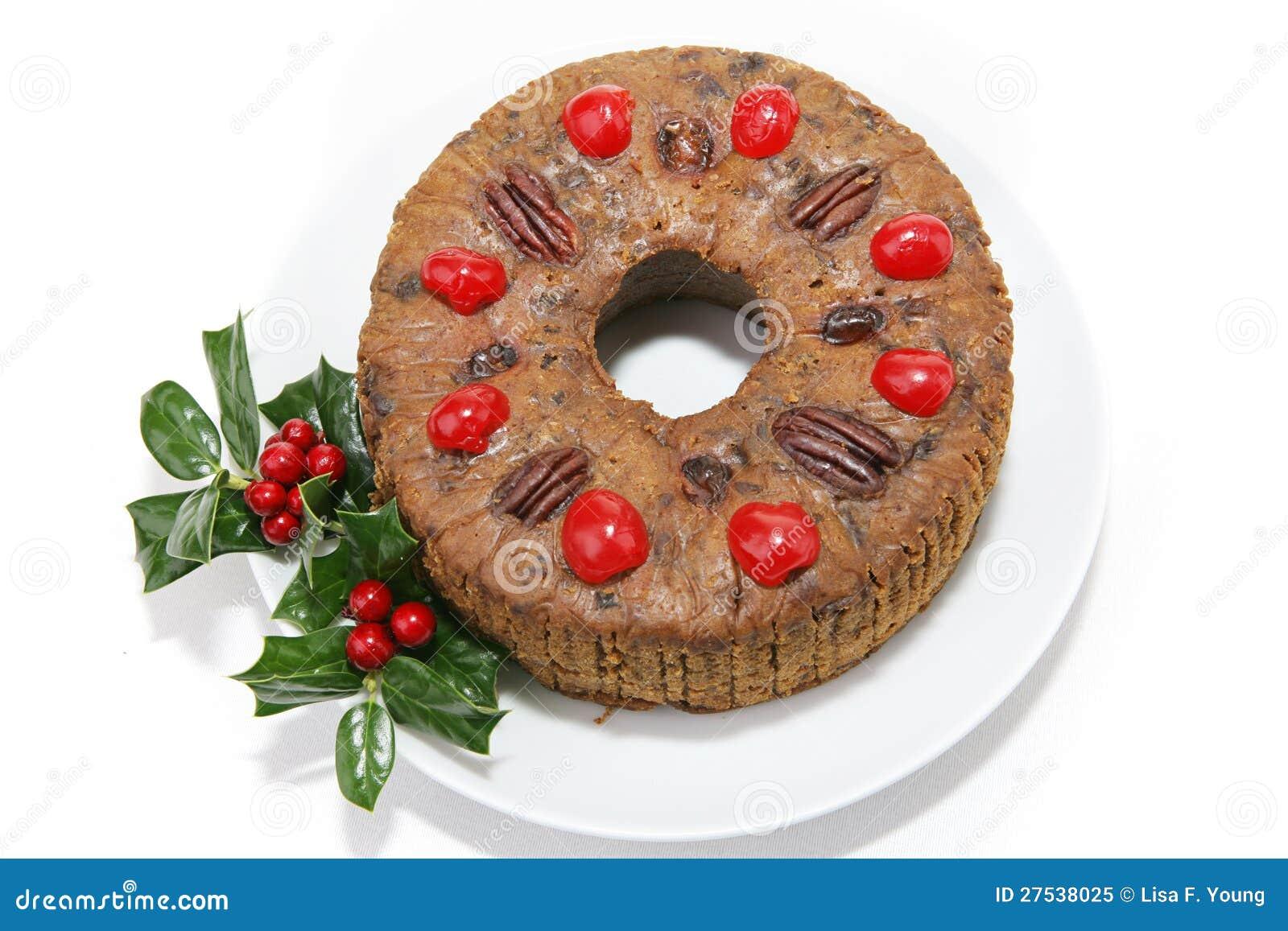JulFruitcake på White