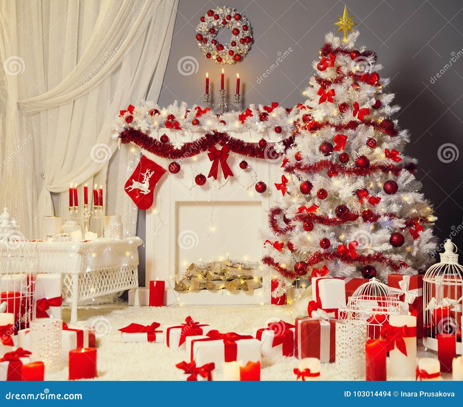 Julgranspis, Xmas-vardagsrum, brandställegarnering