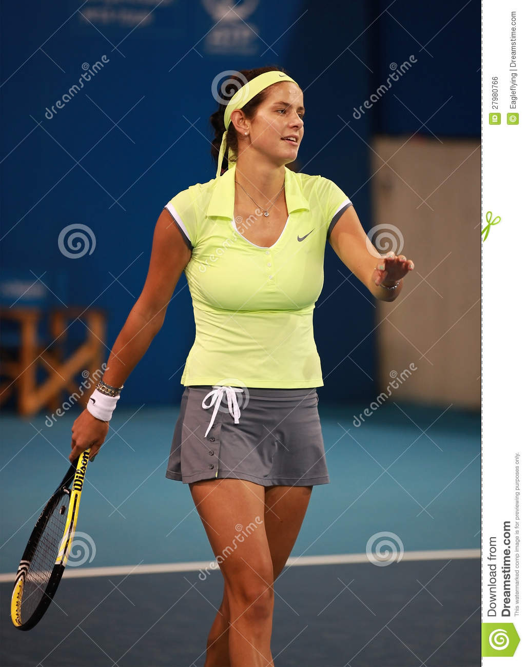 Julia Goerges Of Germany Editorial Photo - Image: 27980766