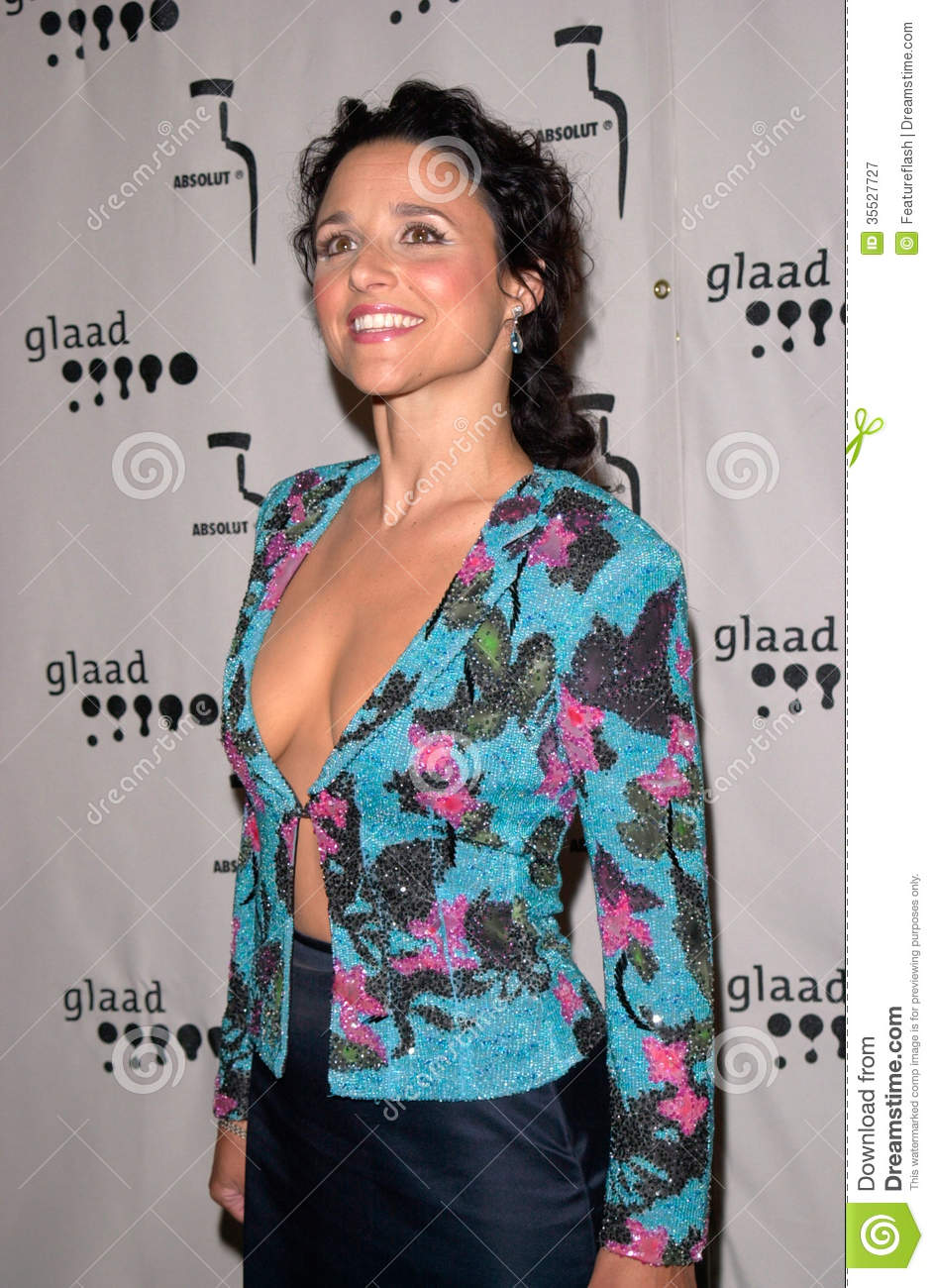 JULIA LOUIS-DREYFUS at the Gay & Lesbian Alliance Against Defamation ...: https://www.dreamstime.com/royalty-free-stock-photography-julia...