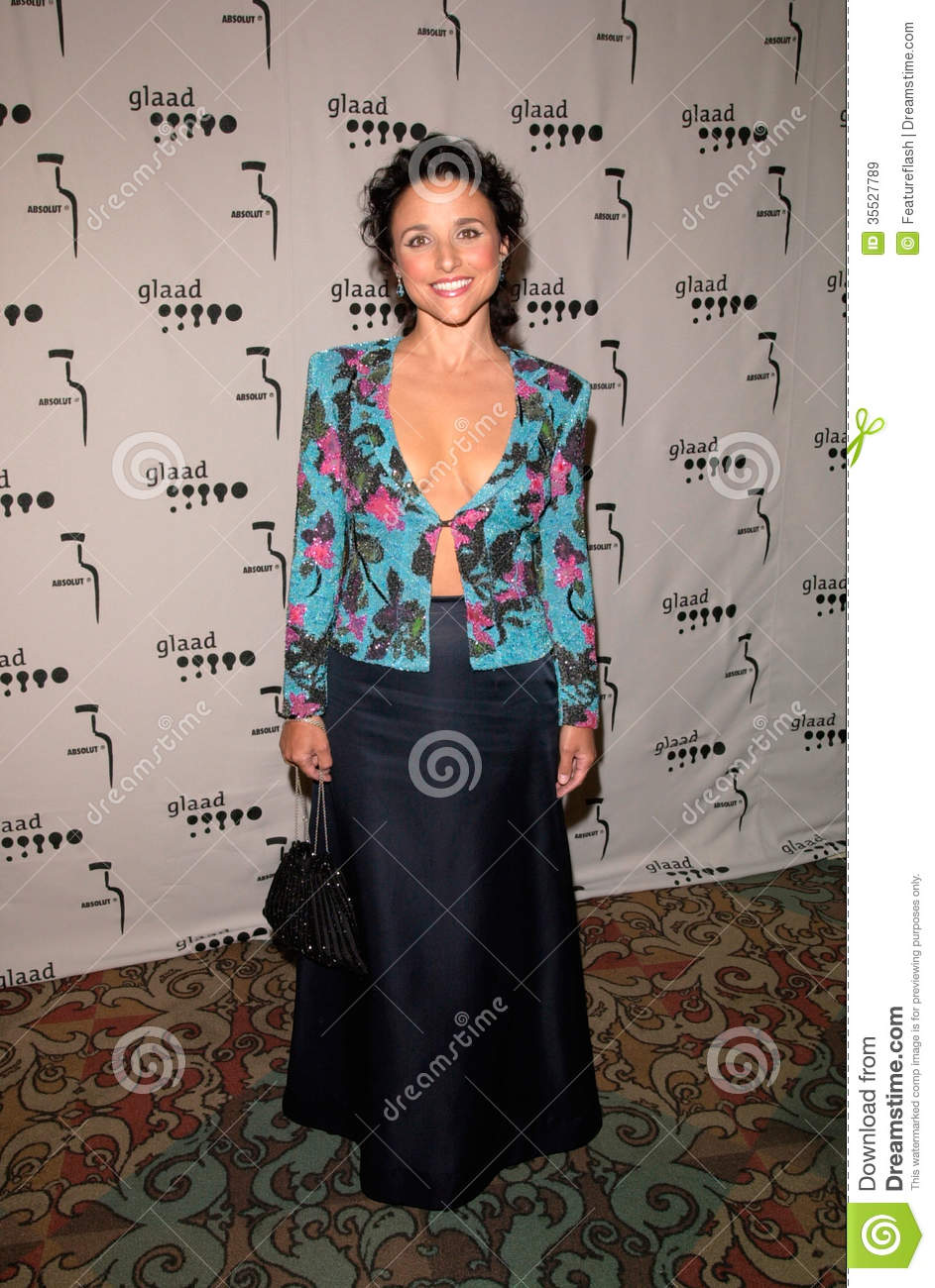 JULIA LOUIS-DREYFUS at the Gay & Lesbian Alliance Against Defamation ...: www.dreamstime.com/royalty-free-stock-images-julia-louis-dreyfus...