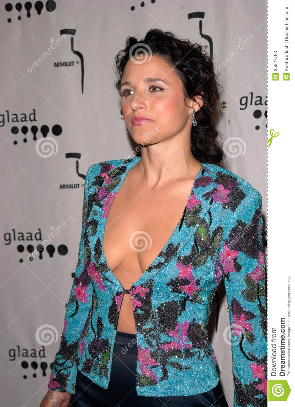 JULIA LOUIS-DREYFUS at the Gay & Lesbian Alliance Against Defamation ...: https://www.dreamstime.com/stock-photos-julia-louis-dreyfus-apr...
