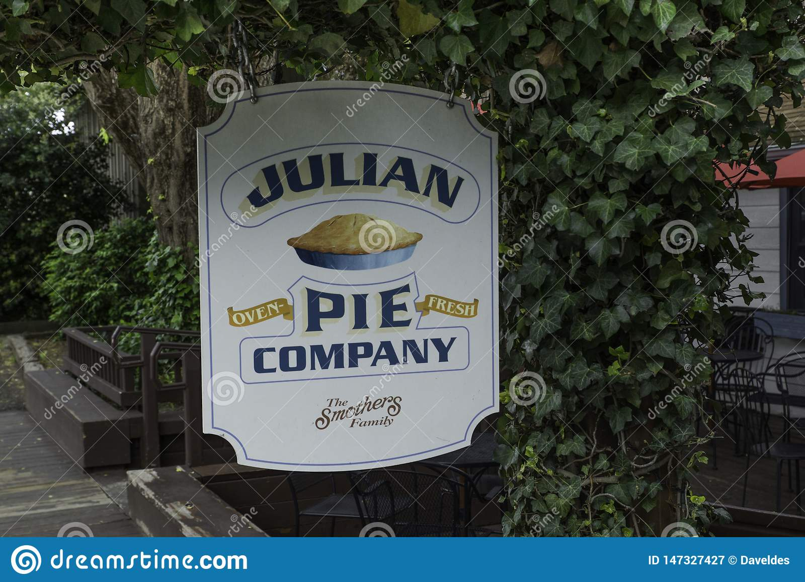 Julian Pie Company Sign