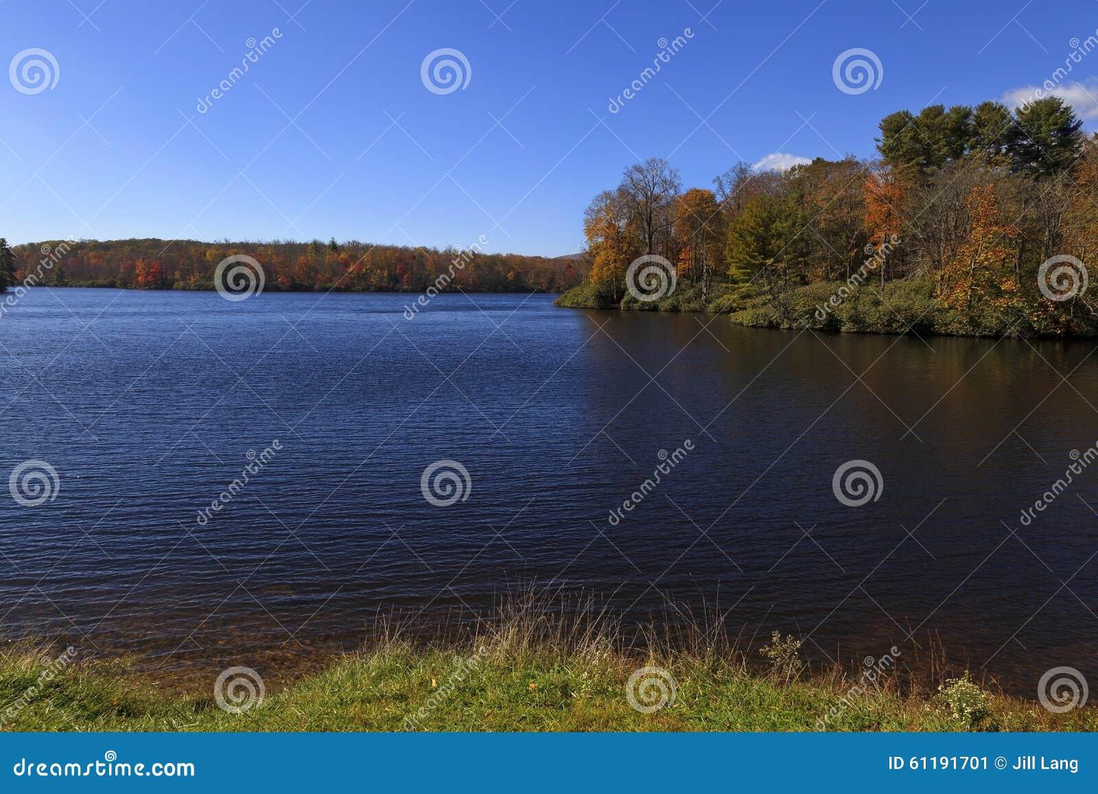 Julian Price Lake at Blowing Rock, North Carolina