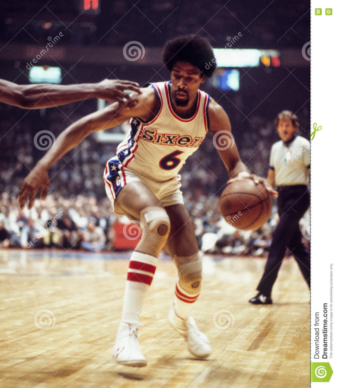 Julius Erving editorial photography Image of national