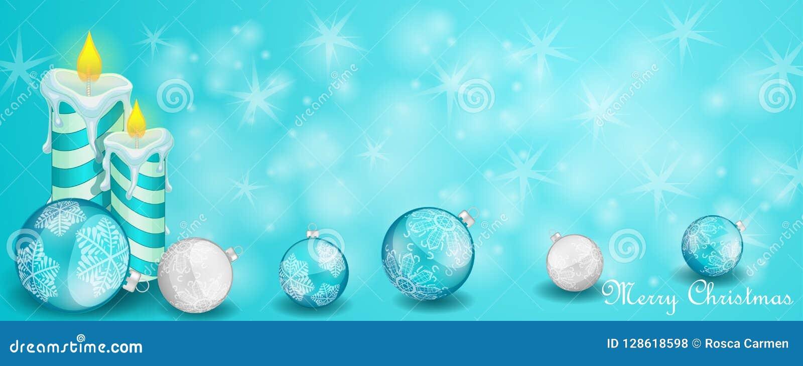 Julkort med garnering