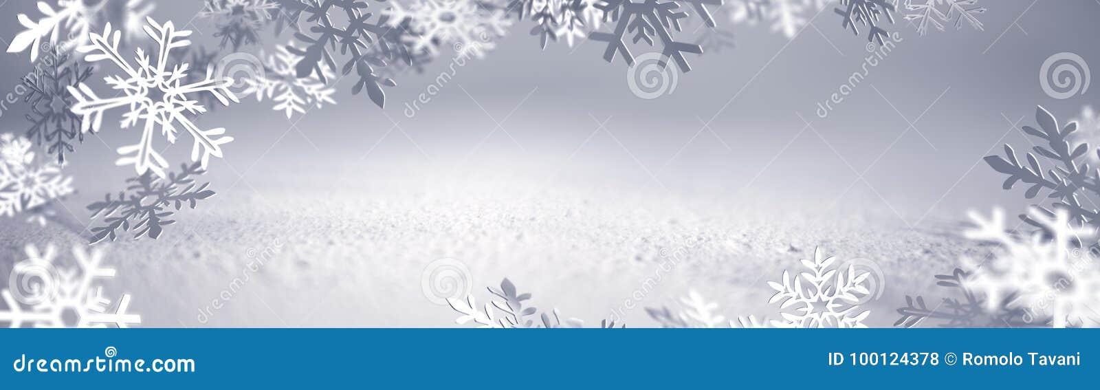 Julkort - snöflingor av papper