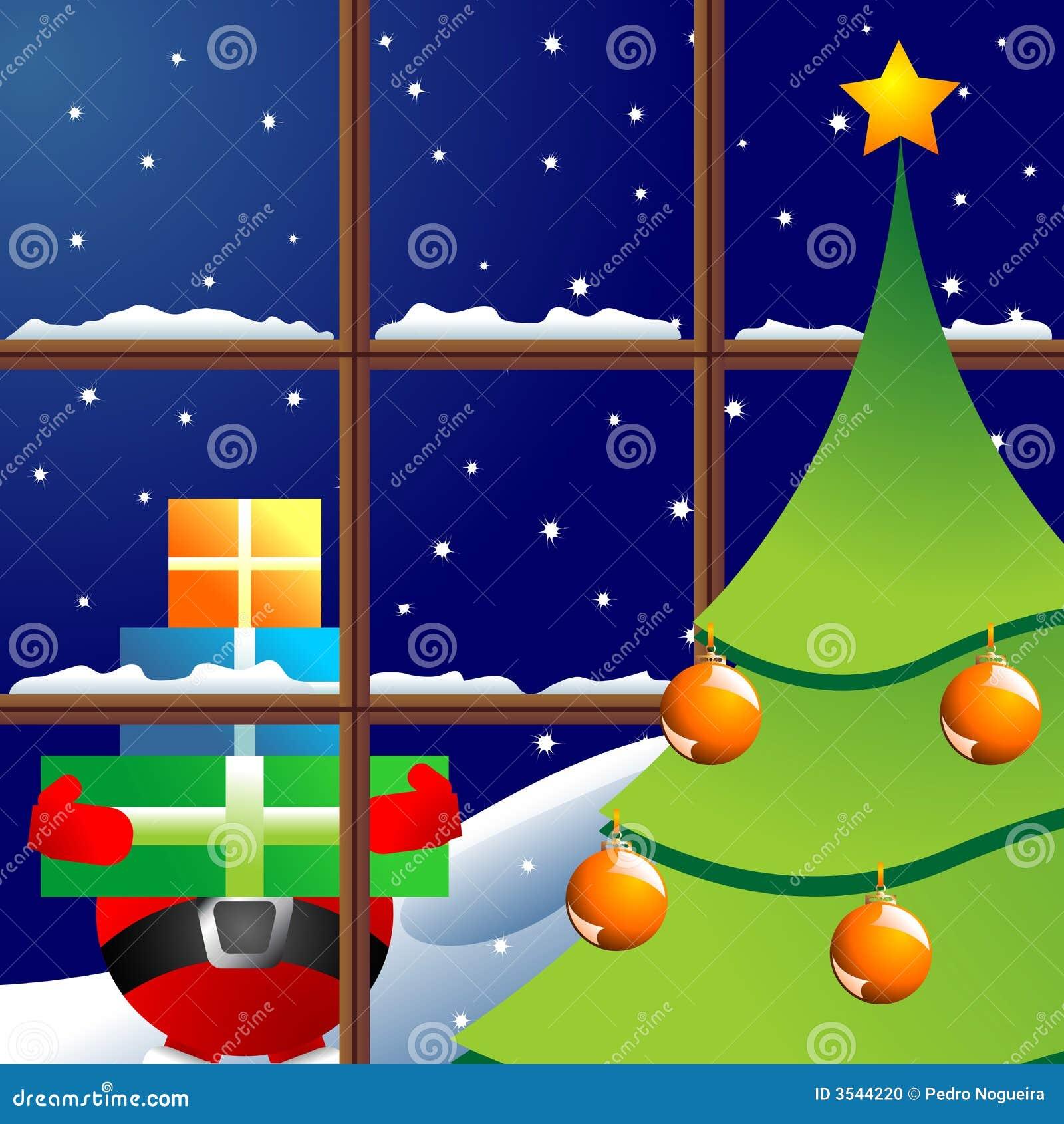 Julnattfönster