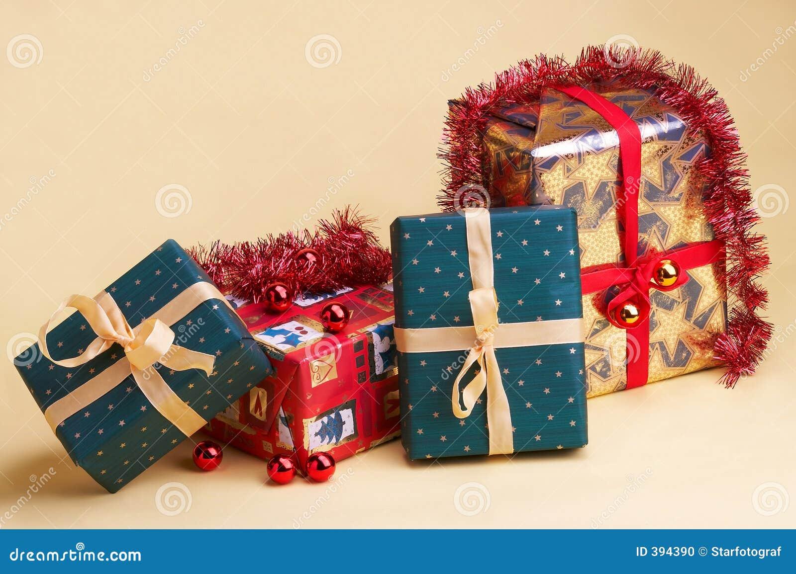 Julpresentsweihnachtsgeschenke