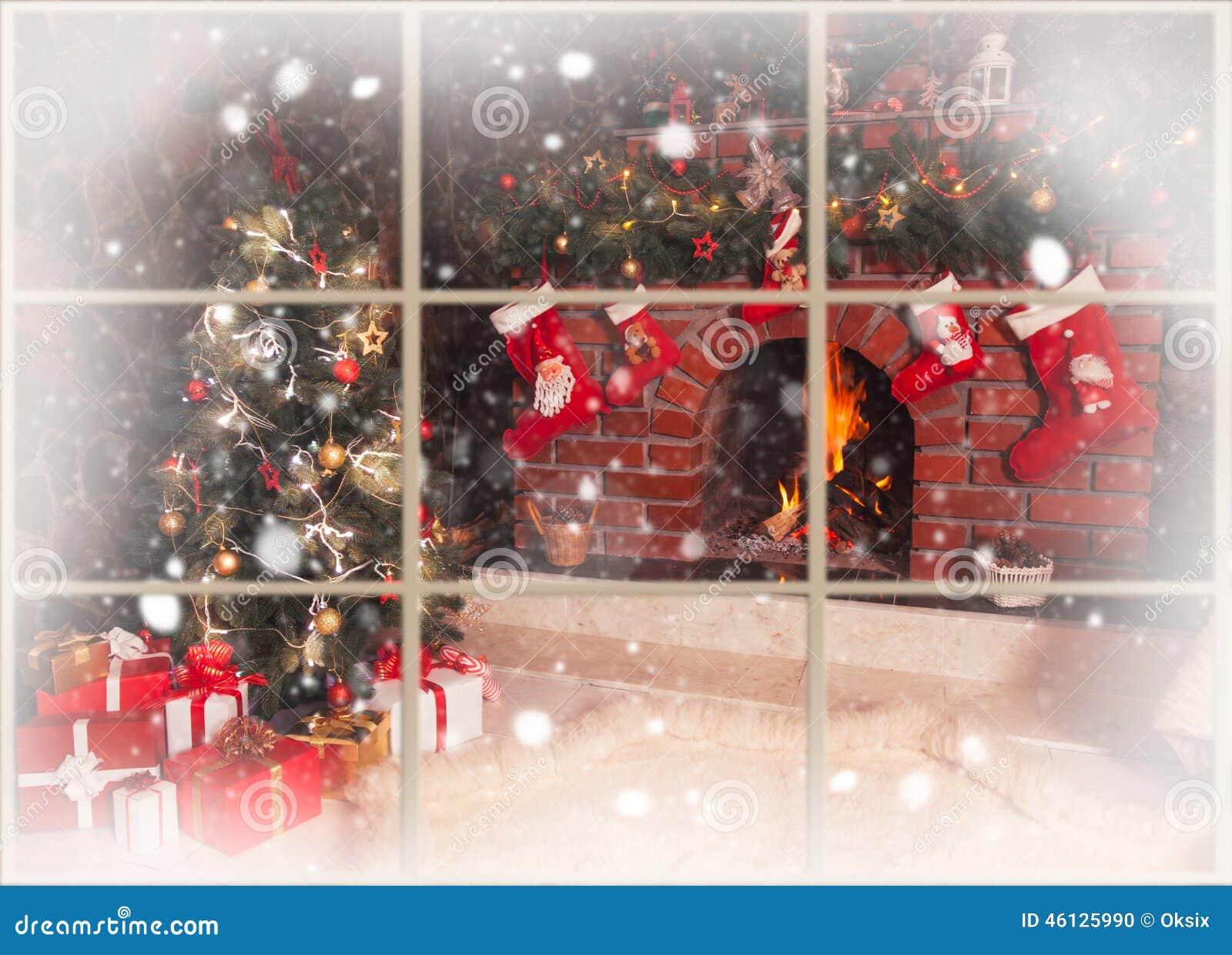 Julspis i rummet