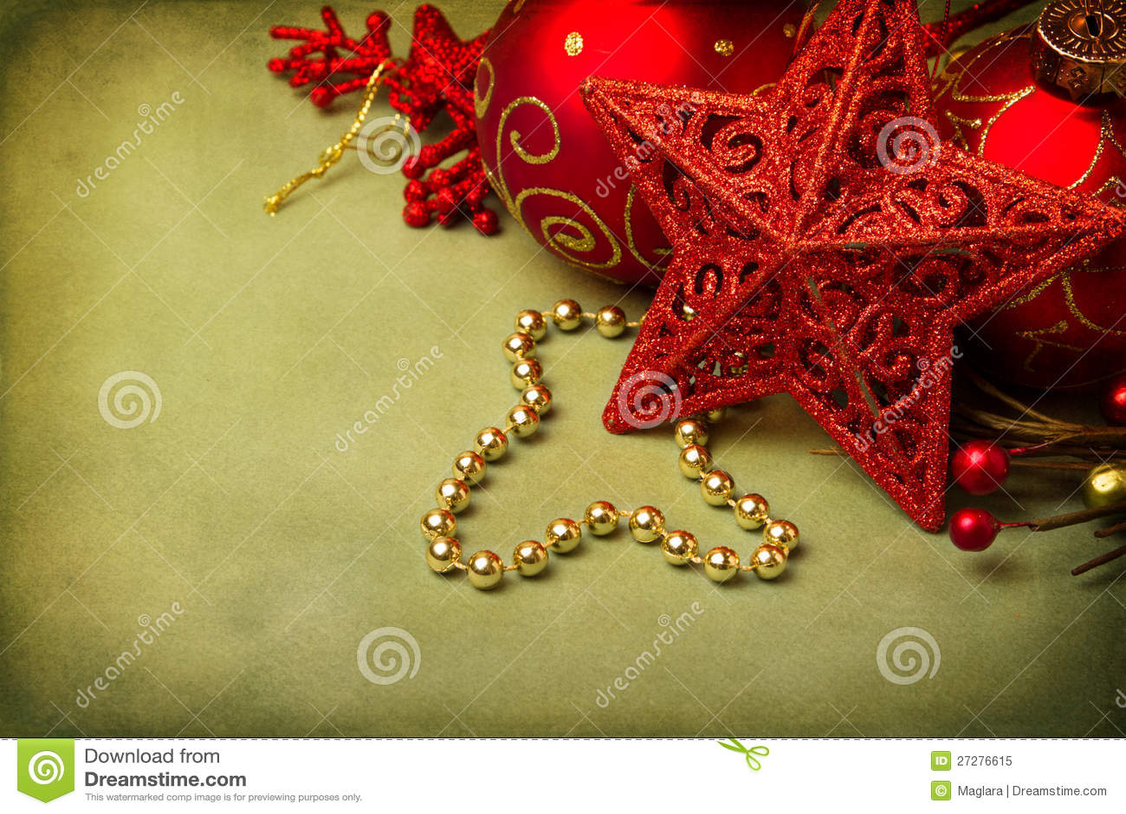 Julstjärnaprydnad