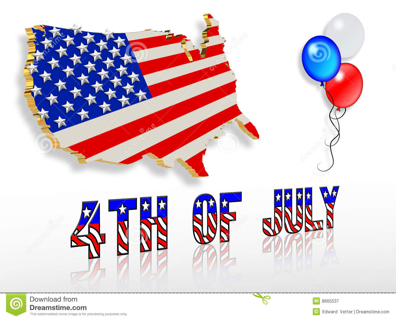 July 4th 3d patriotic clip art designs stock illustration july 4th 3d patriotic clip art designs publicscrutiny Choice Image