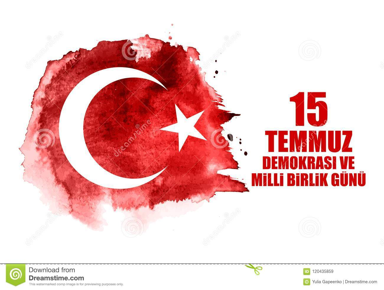 15 July Happy Holidays Democracy Republic Of Turkey Turkish Speak