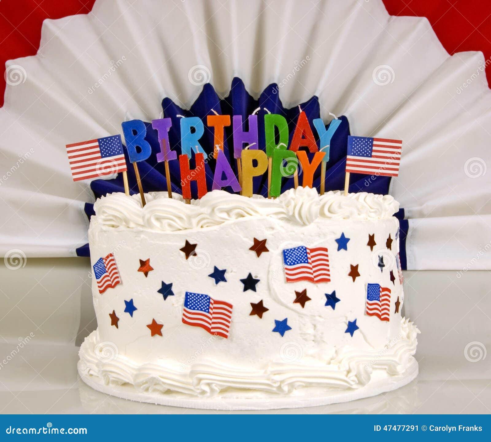 Blue Birthday Cake Wishes