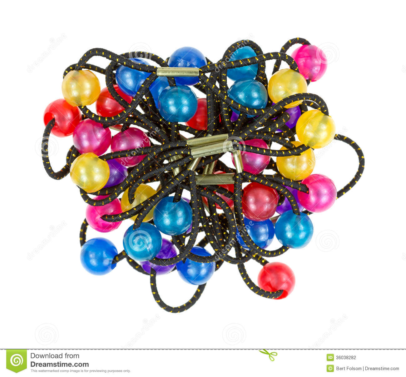Jumble of ponytail holders stock photo. Image of blue - 36038282 b829bad3ee0