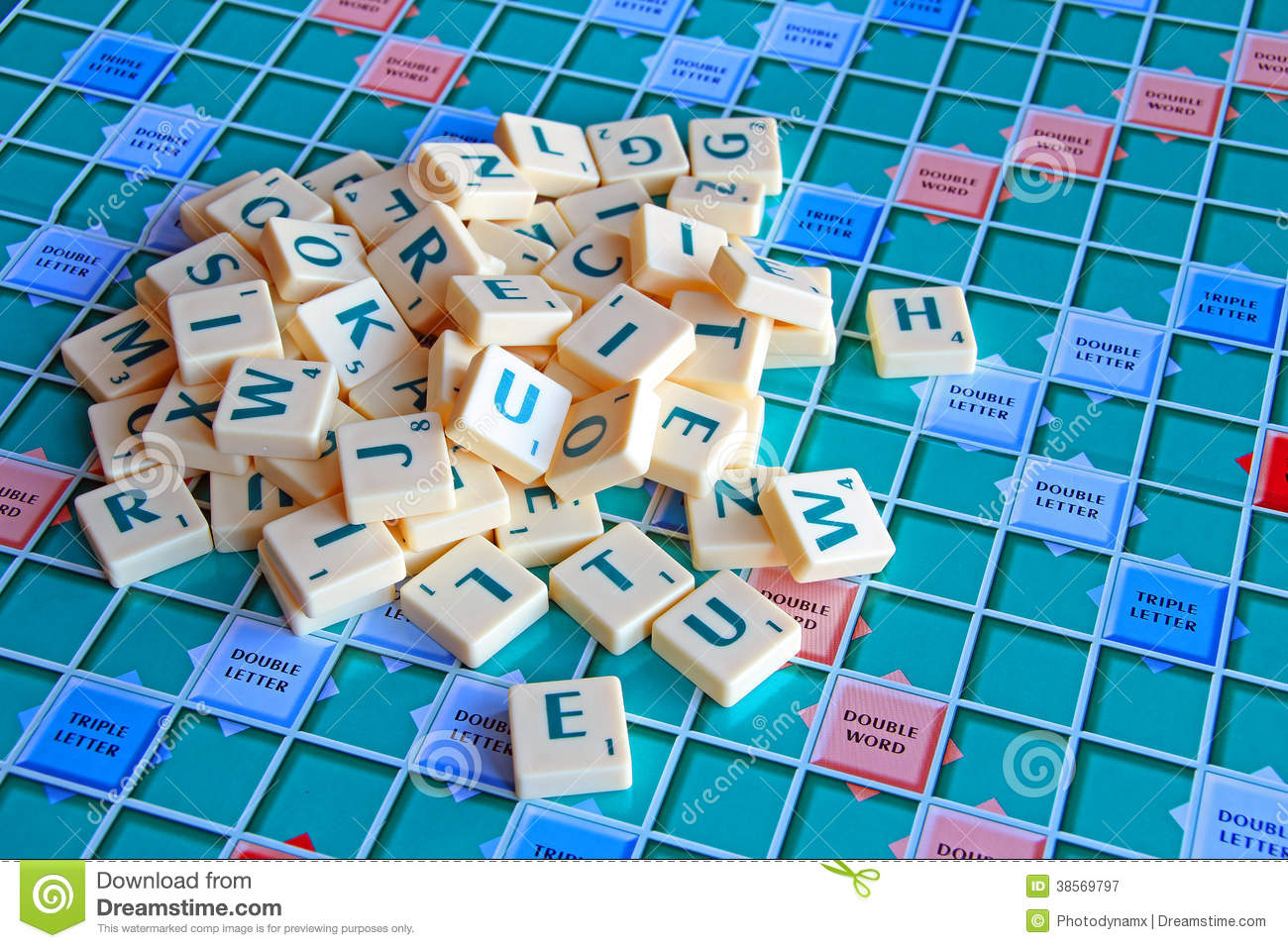 Jumbled Pile Of Scrabble Tiles Stock Image - Image of scrabble ...