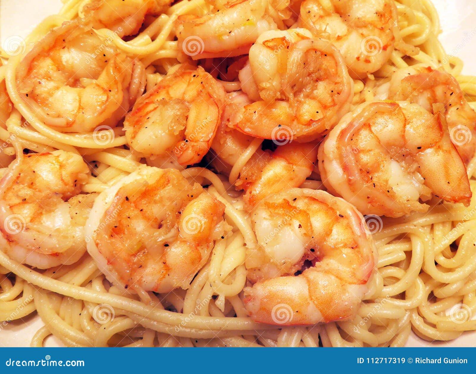 Jumboräka och pasta