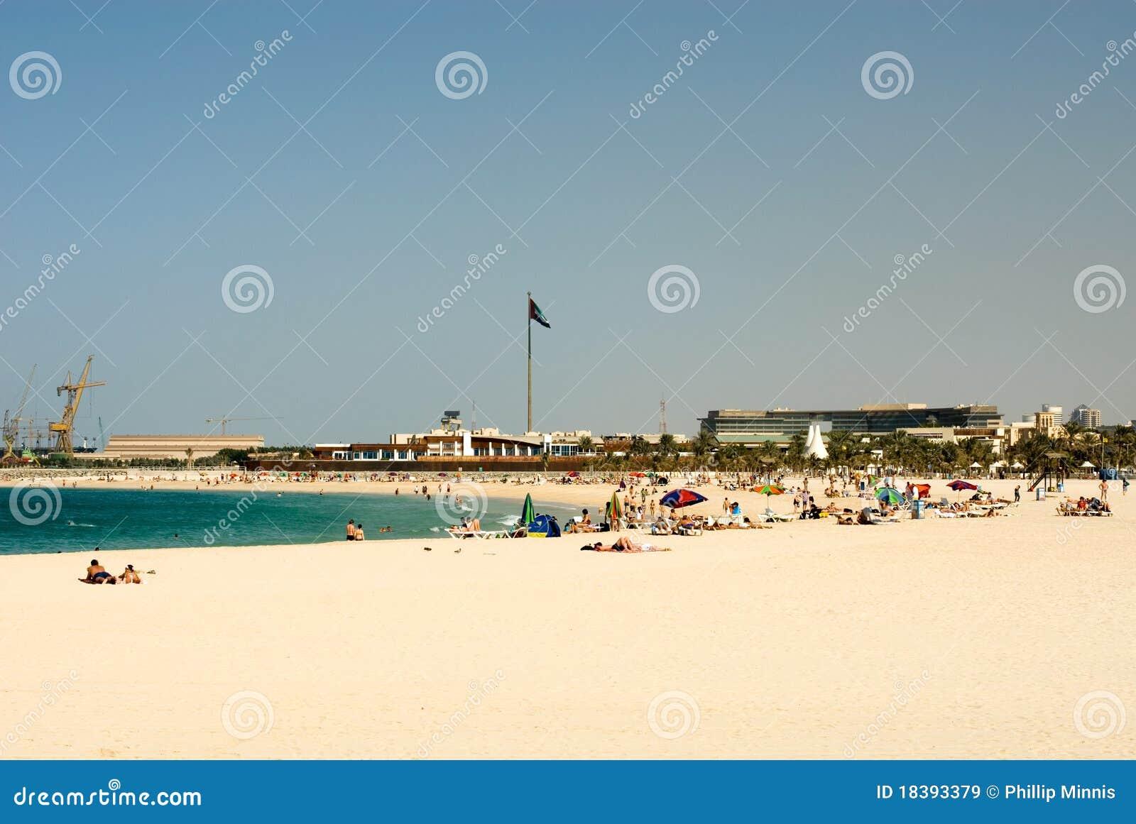 Jumeirah Дубай пляжа