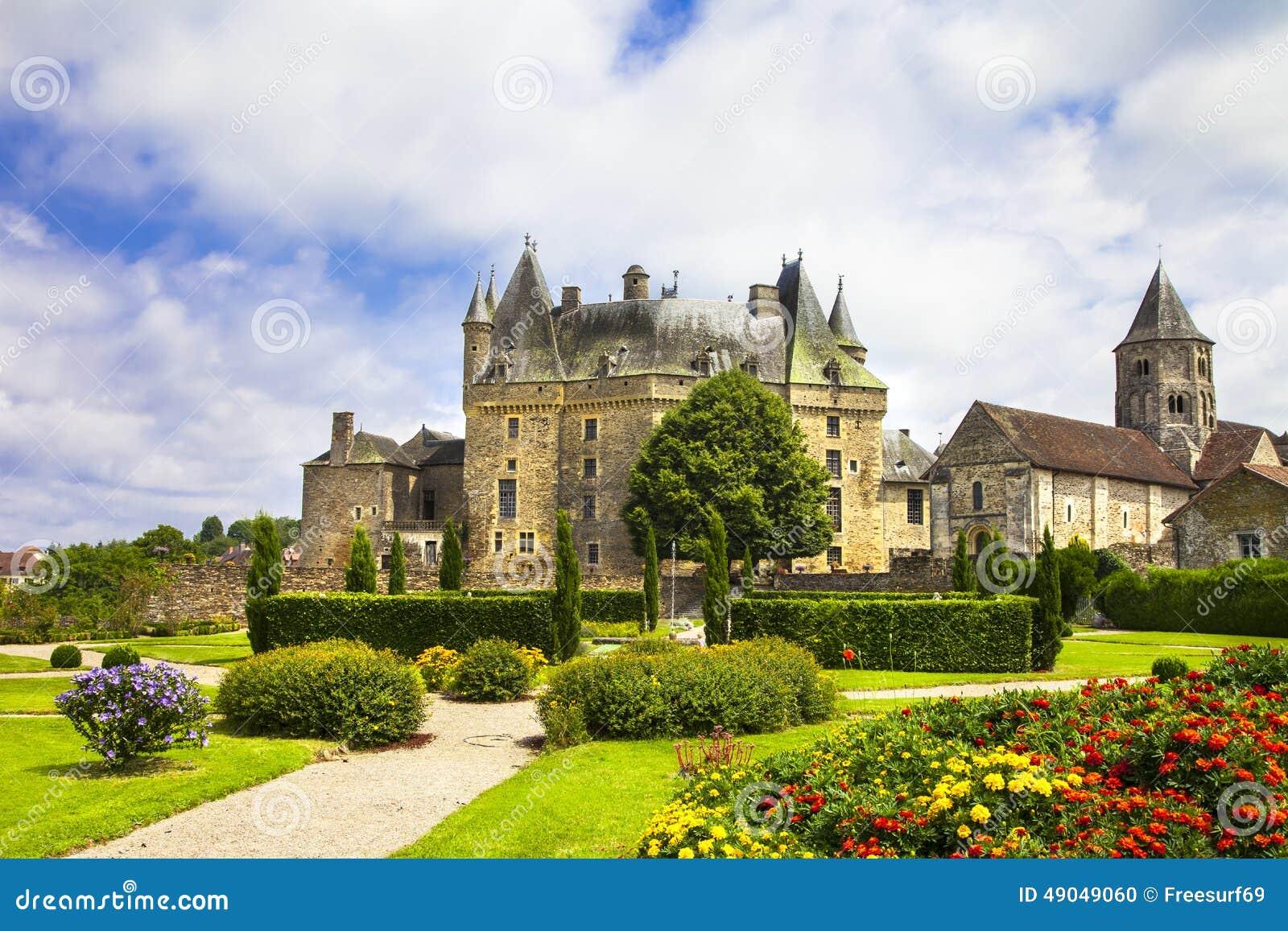 Jumilhac le盛大的法国的城堡-