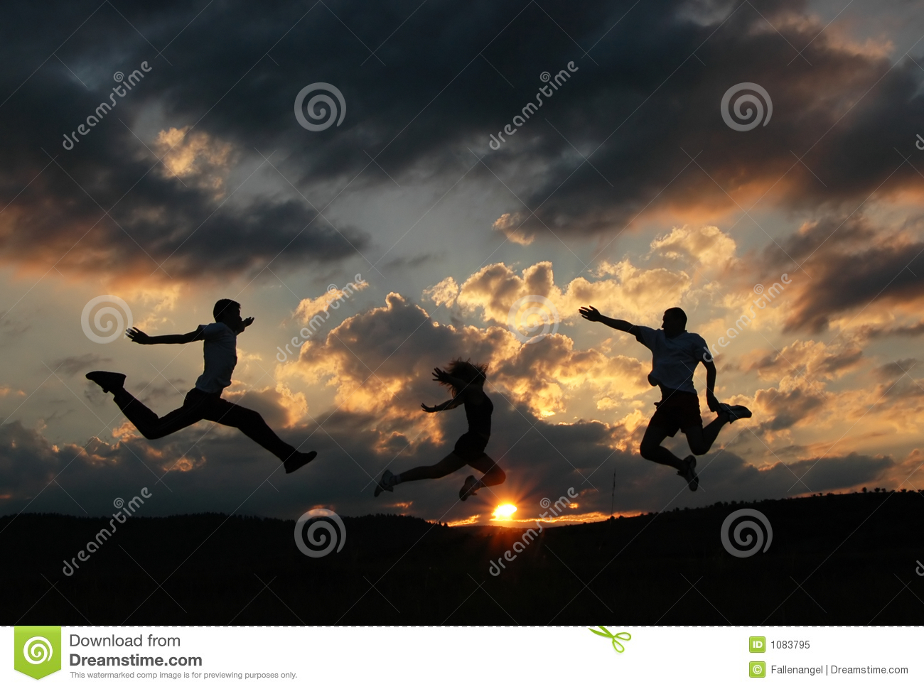 jump for joy royalty free stock photo image 1083795