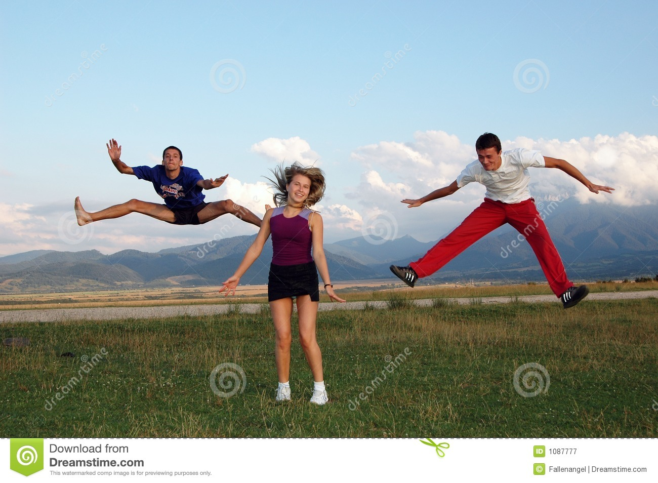 jump for joy royalty free stock photography image 1087777