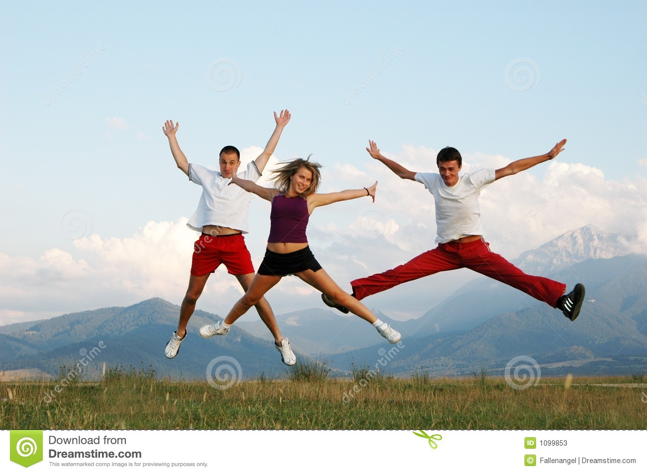 jump for joy stock image image of arms people concept