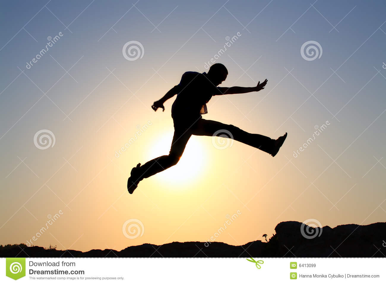 jump for joy silhouette royalty free stock images image
