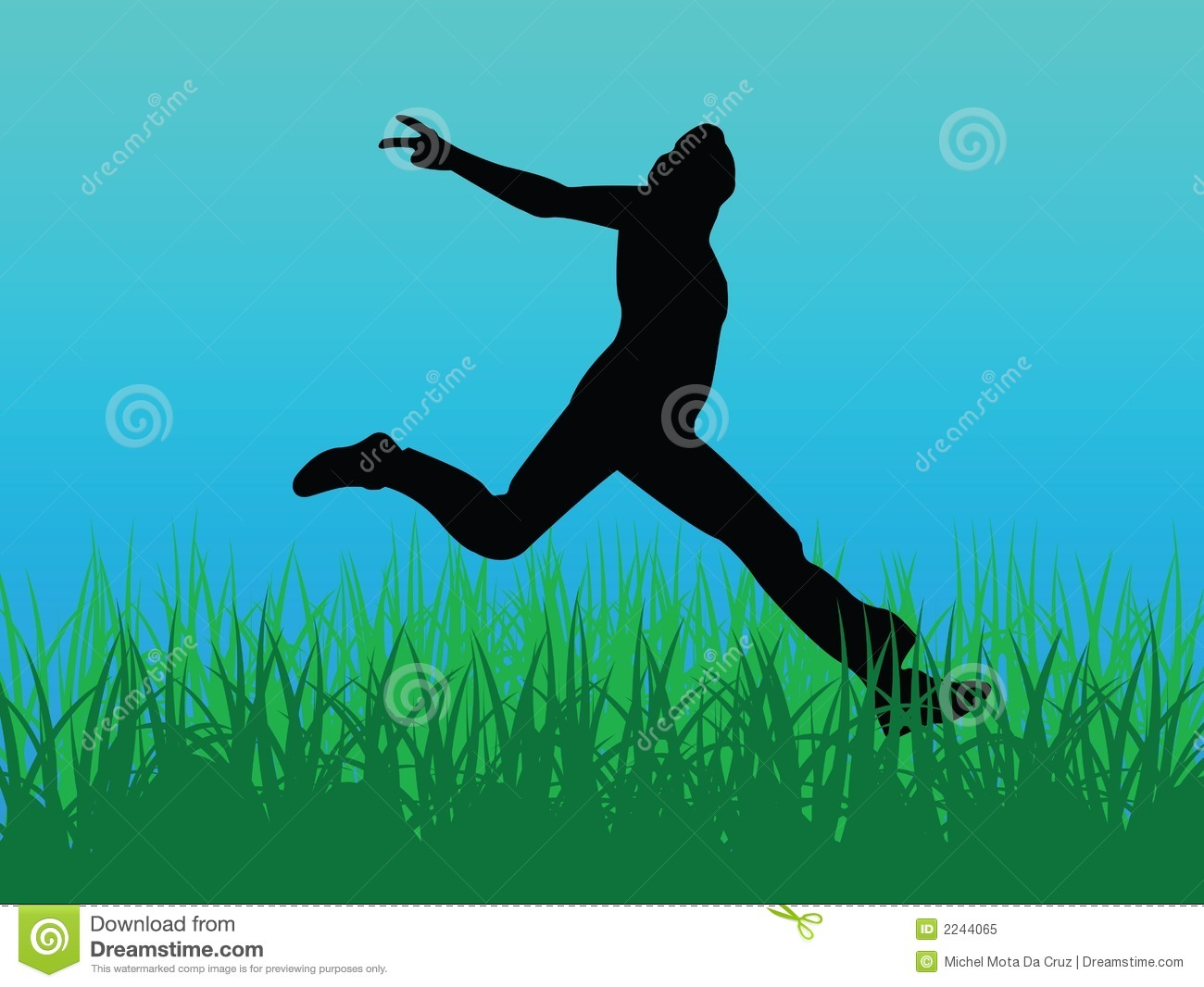 jump for joy vector royalty free stock photo image 2244065