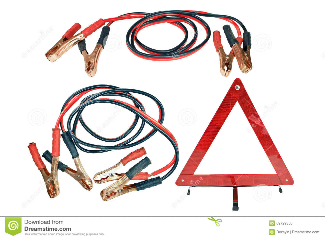 How hook up jumper cables
