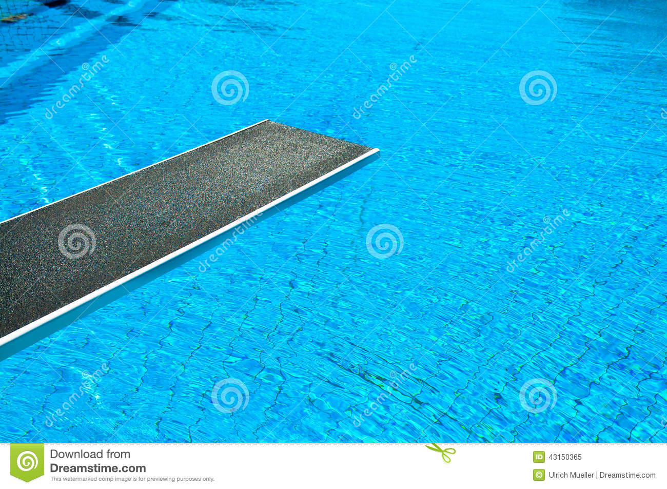 Jumping board stock image. Image of blue, pool, summer - 43150365
