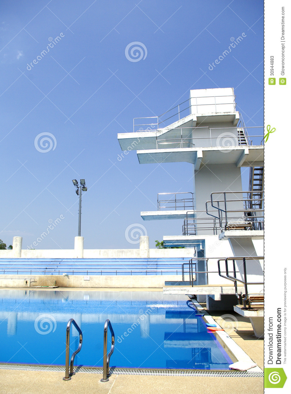 Diving Board Outdoor Swimming Pool Stock Images - Download 229 ...
