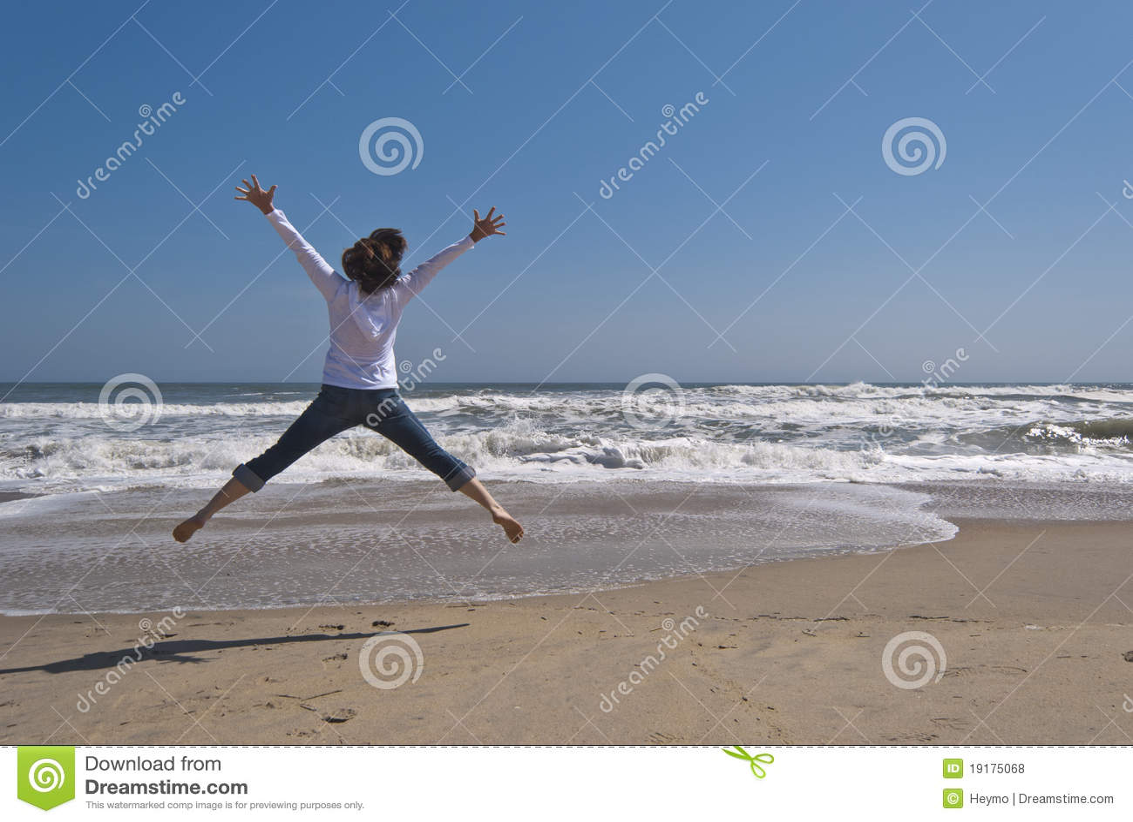 jumping for joy royalty free stock photos image 19175068