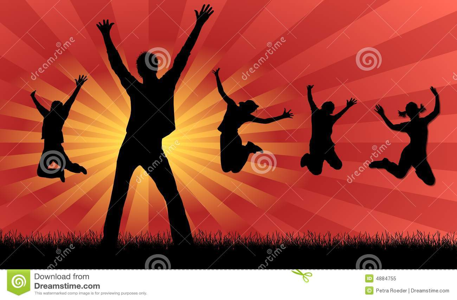 jumping for joy royalty free stock photo image 4884755