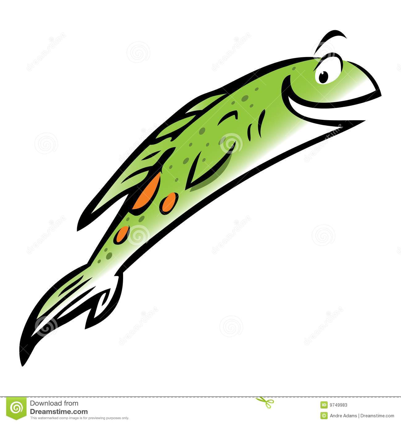 Jumping Salmon Fish Stock Illustrations – 301 Jumping Salmon Fish ...