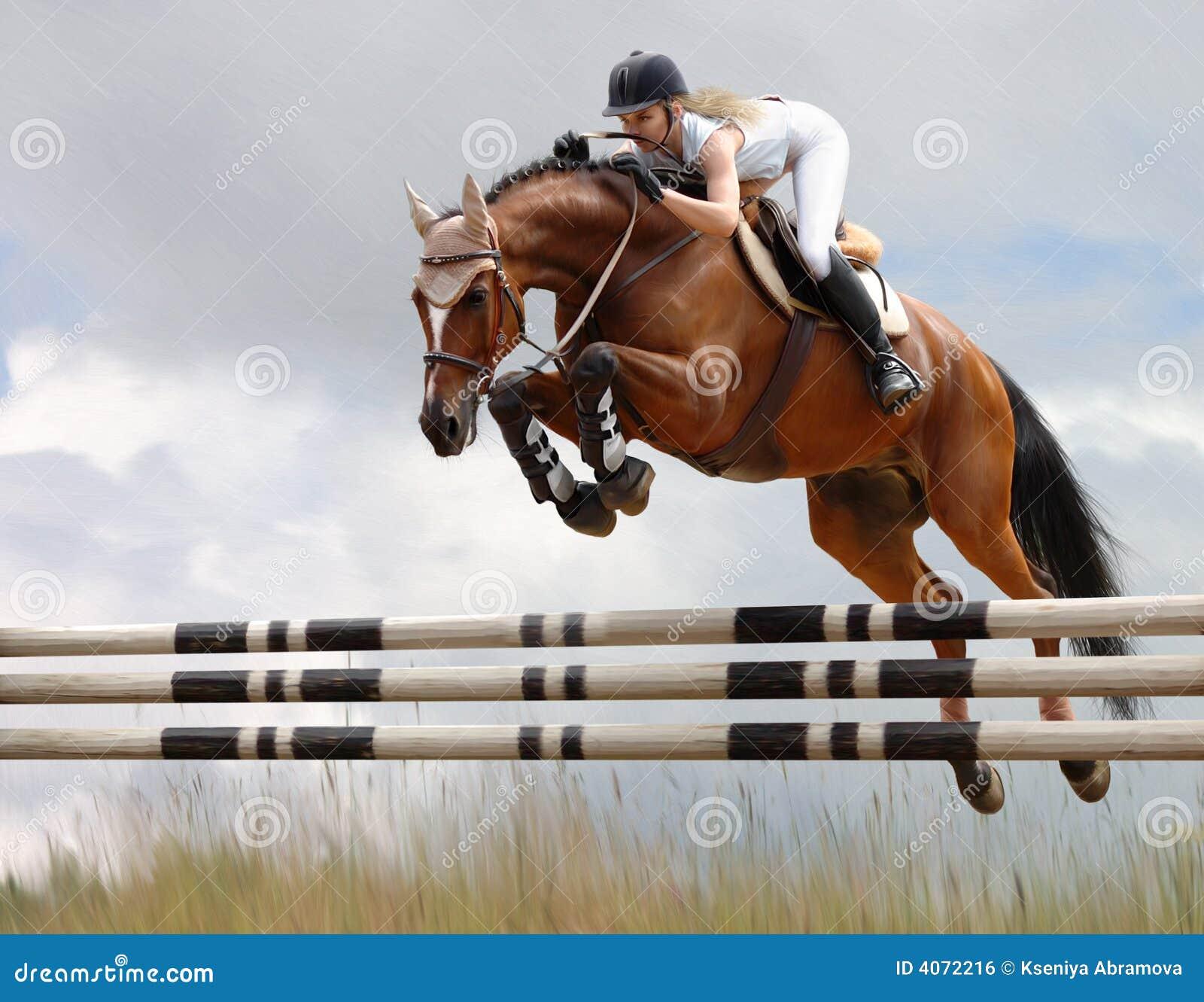 Прыгает верхом онлайн 2 фотография