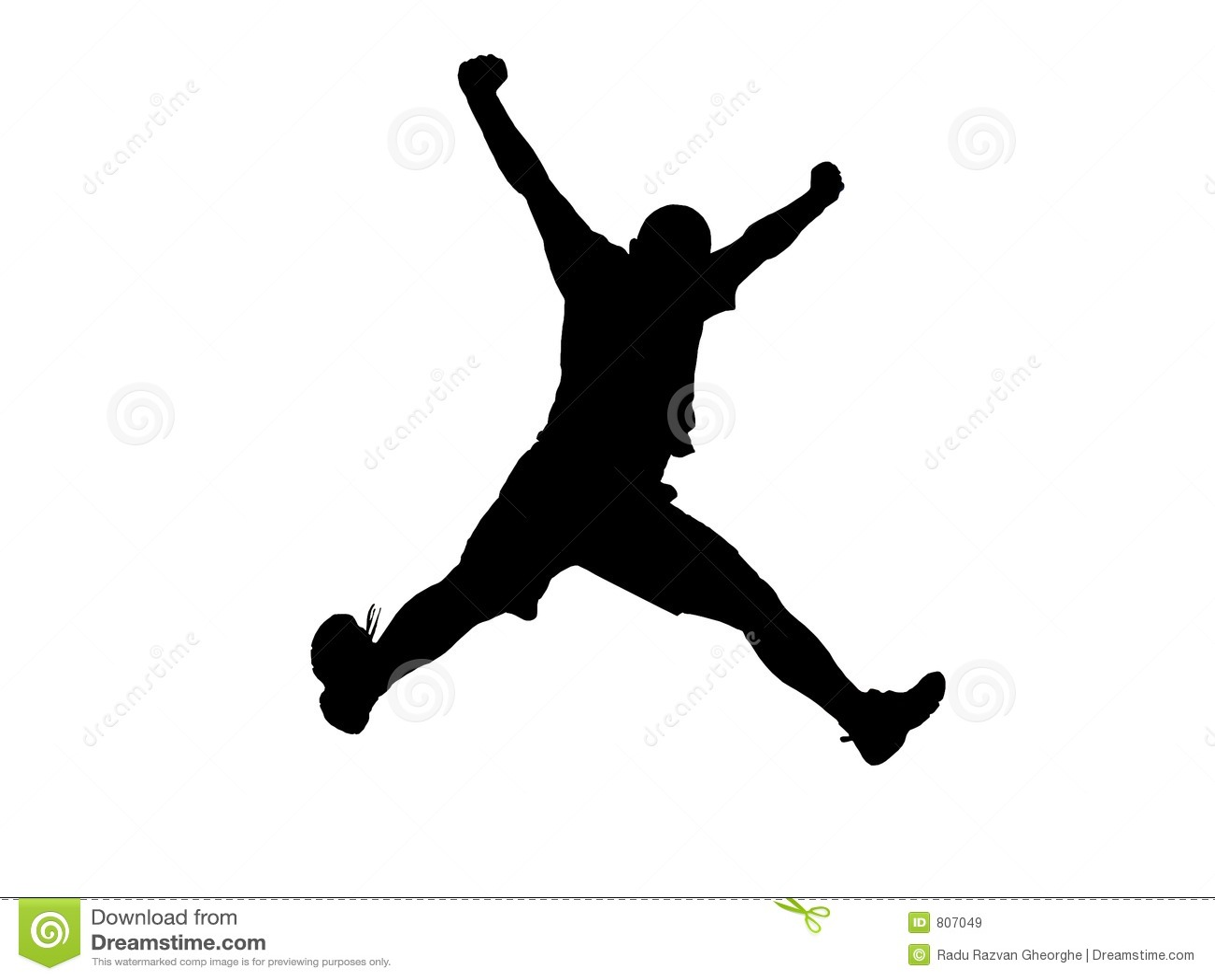 Jumping for joy Stock Photos Royalty Free Jumping for joy